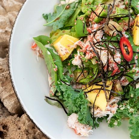 Салат с крабом - фото 5092
