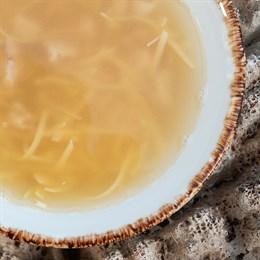 Детский куриный суп с фрикадельками