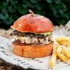 Классический бургер с грибами - фото 4743