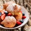 Чуррос с ягодами и соленой карамелью - фото 5250